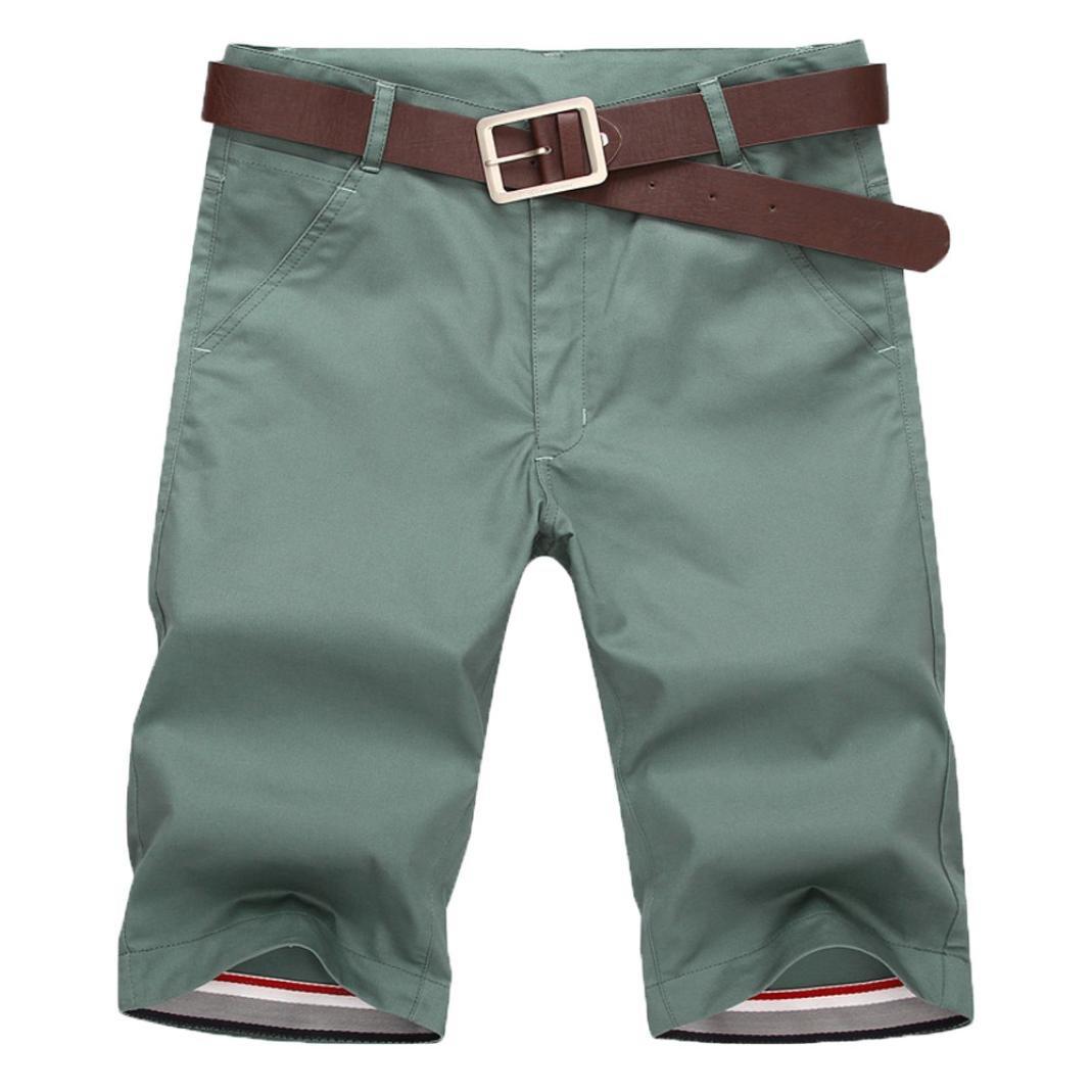 Herren Kurze Goosun Männer Sommer Einfarbig Bewegung Fitness Laufen Freizeithosen Sport Atmungsaktiv Mode Hose Bermuda Sweatpants Cargohose Leinen