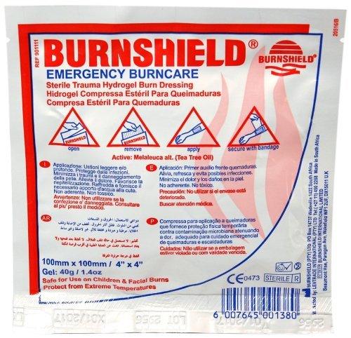 burnshield hydrogel burn dressing - 6
