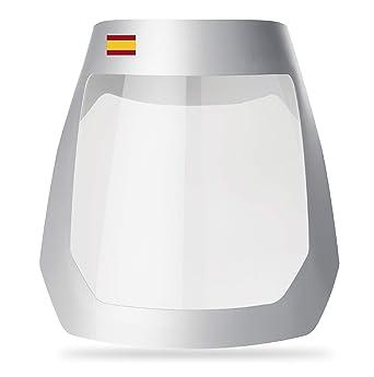 Pantalla Protectora | FLEXOMED® | Pantalla Facial Protectora |ViseraPlus Ultra Bandera España | Incluye Almohadilla Reforzada | Estuche de 3 unidades | Con Certificacion CE: Amazon.es: Bricolaje y herramientas