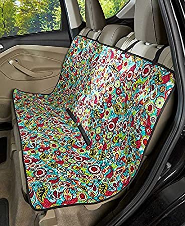 Quilted Car Seat Covers Paisley By GetSet2Save