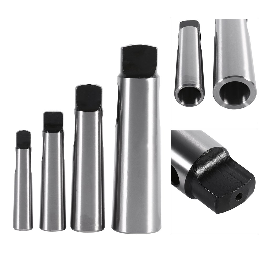 MT1-4 to MT2-5 Morse Taper Adapter Reducing Drill Sleeve for Lathe Milling(3-4) Walfront
