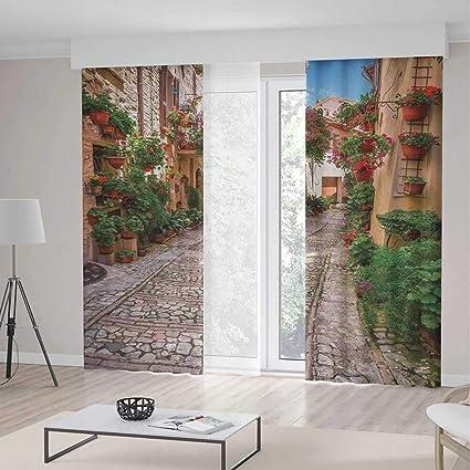 Amazon.com: YOLIYANA Blackout Window Curtain,Tuscan,Living ...
