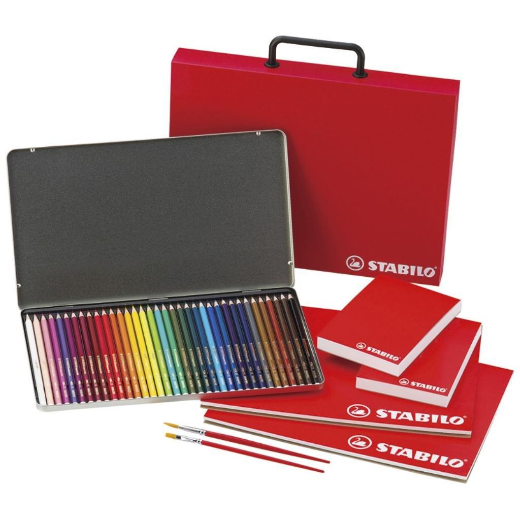 スタビロ 水性色鉛筆セット STB1000   B01M7SJ5XZ
