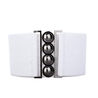 tedim® - 4 Boucle Style 3 pouces de large ceinture élastique Générales de  Corset filles 81cf762a845