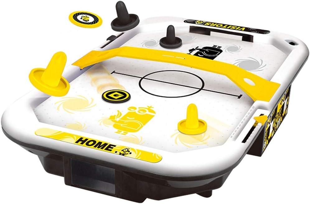 EDED Aire Hockey eléctrica con alimentación, Mesa de futbolín ...