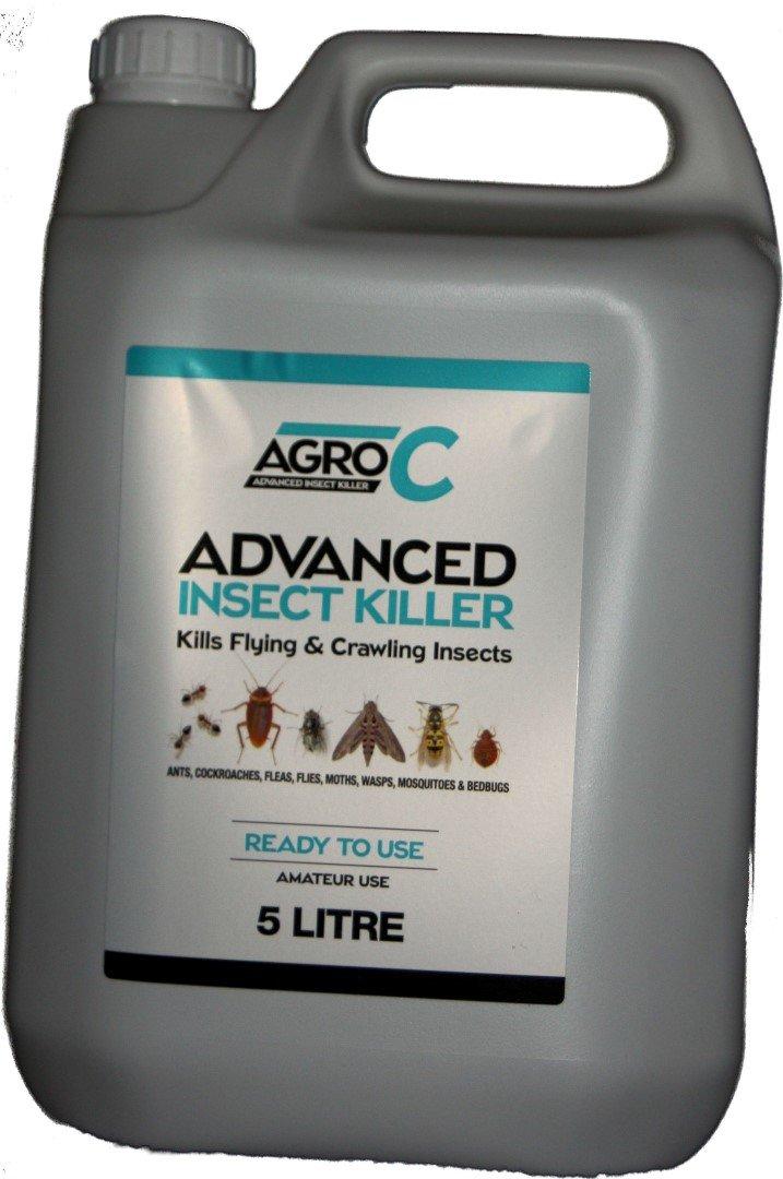 AGRO Cockroach Advanced killing poison spray treatment 5L Lodi
