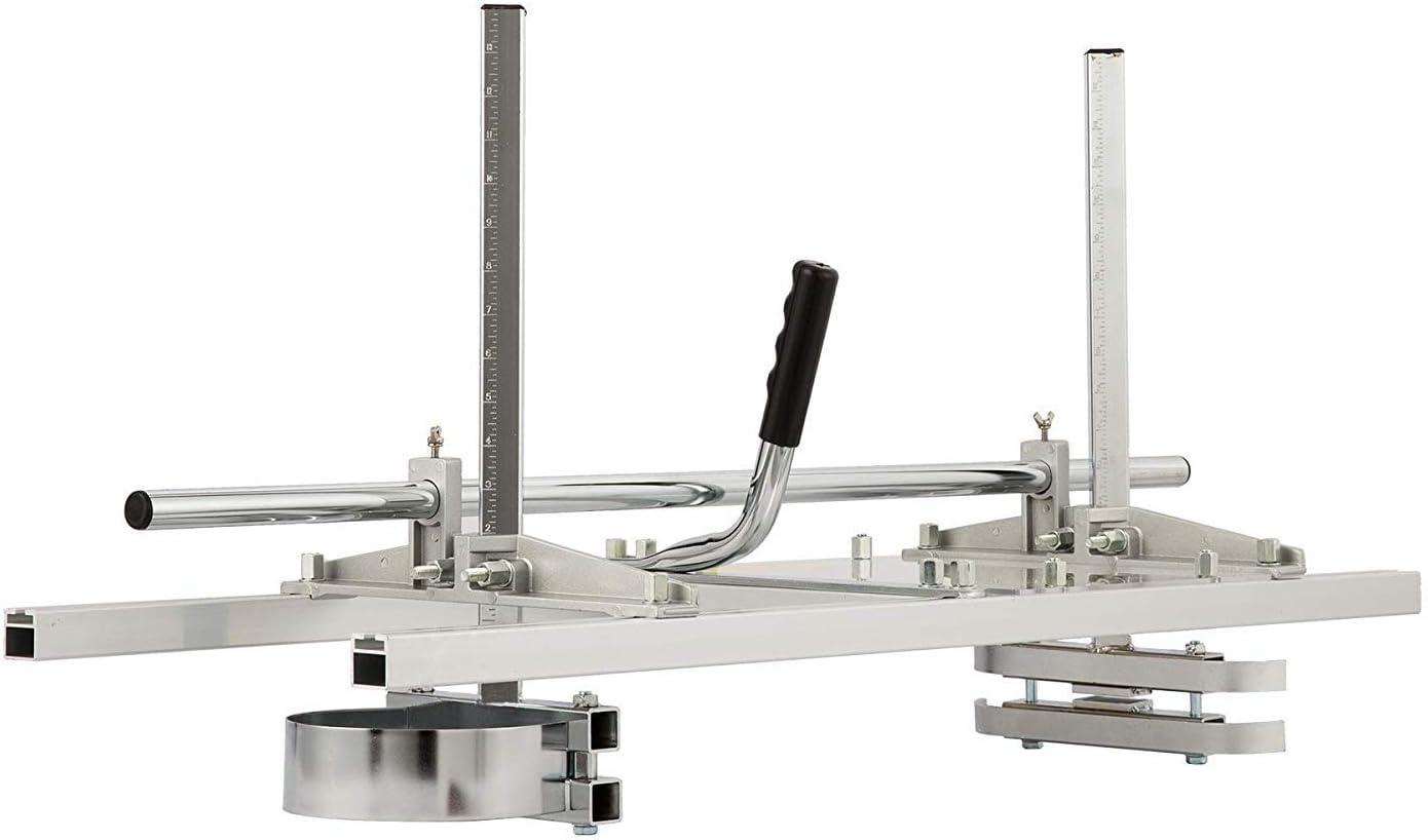 CO-Z Soporte de Sierra de Cadena Accesorio de Motosierra Portátil Fresado Aluminio Acero Soldadura Mig Aserradero Encofrado Matrices de Madera (14-36 Pulgadas)