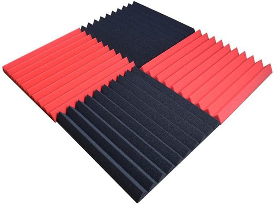 Espuma ac/ústica bloomma Espuma ac/ústica para insonorizaci/ón, aislamiento placas de DIY Espuma pisos 30/* 30/* 5/cm