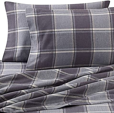 Luxury Portuguese Heavyweight Flannel Pillowcases Set of 2 Assorted Colors//Sizes