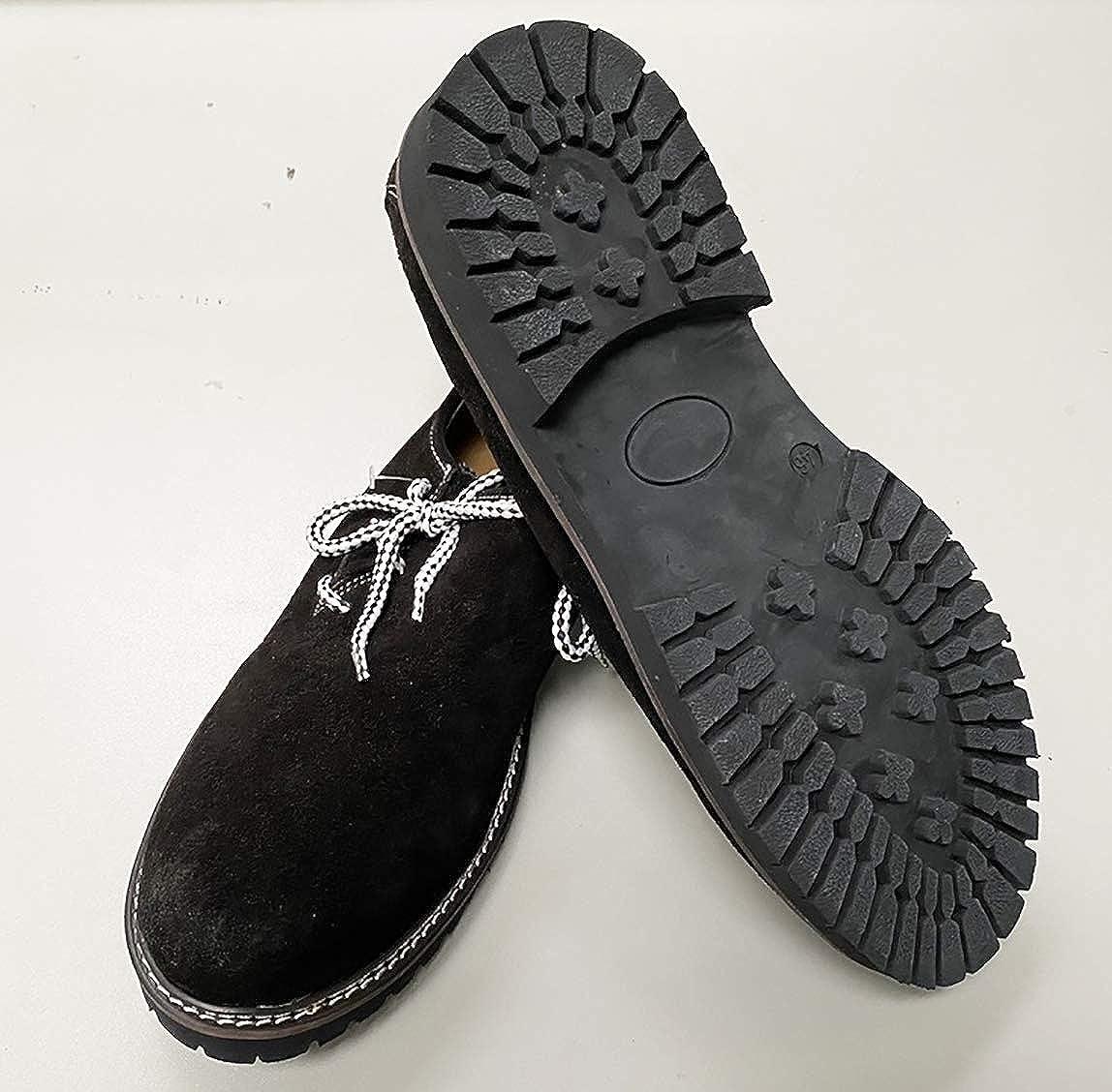 Frohsinn - Zapatillas, piel auténtica, para traje bávaro, todas ...