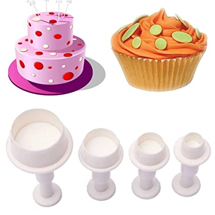 Unmengii Happy Birthday Plastic Sugarcraft Baking Tools Embossing Mould Cake Mold Fondant Cookie Cutter