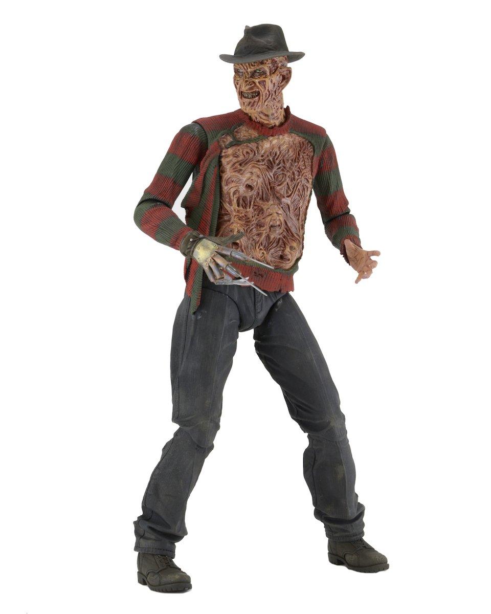 Amazon.com: NECA Nightmare on Elm Street 1/4 Scale Action Figure ...