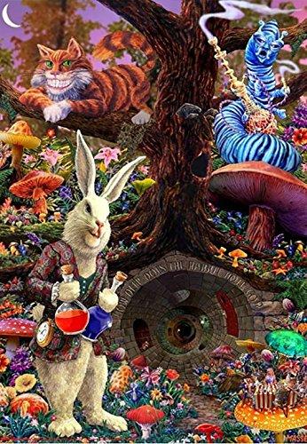Down the Rabbit Hole - Alice's Adventures in Wonderland 36x2