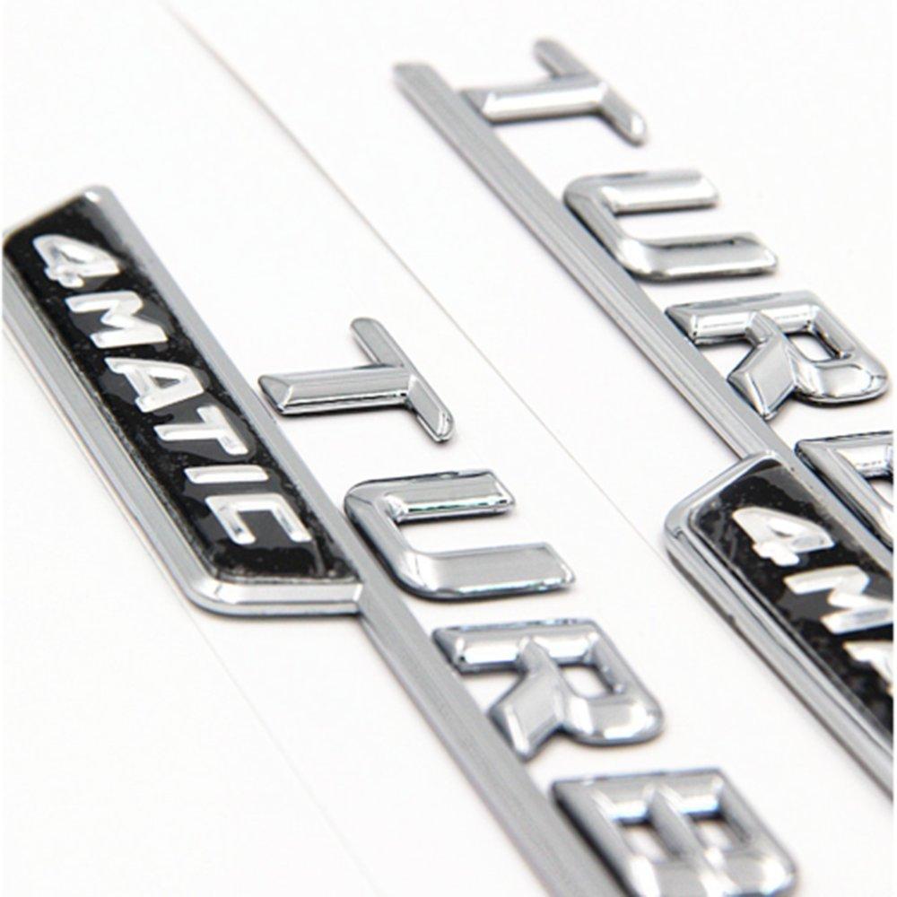 Ricoy Brabus Noir mat des embl/èmes badge Autocollant Stickers Logo pour G E S CLS GLE GLS Classe C NEUF