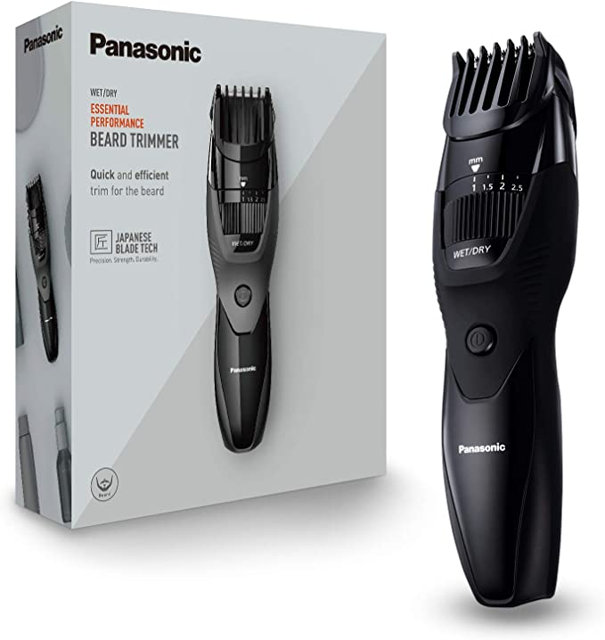 Panasonic ER-GB43-K503 - Recortador WET&DRY de barba para hombre ...