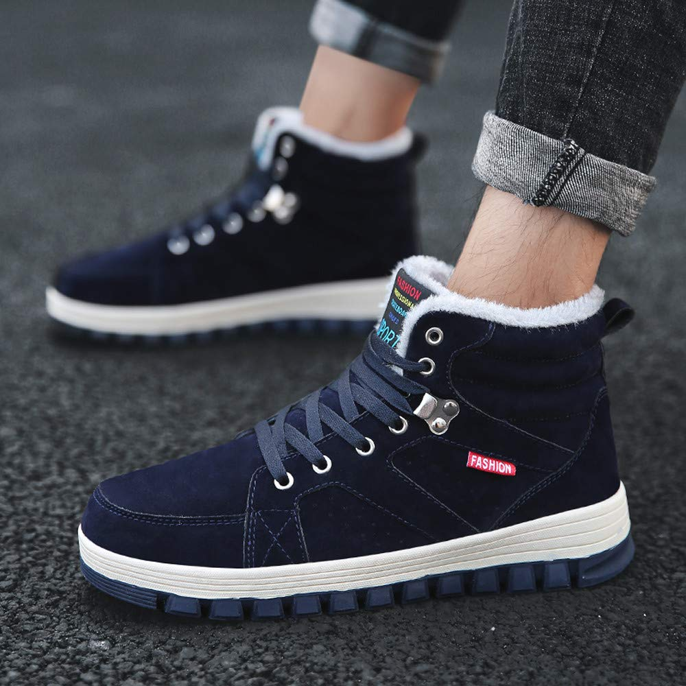 Foncircle Men Shoes❤️Casual Outdoor Sports Mens High Boots Warm Sports Shoes