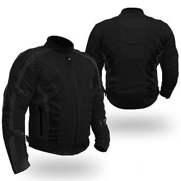 Bikers Gear UK chaqueta de Moto de Cordura Extreme CJ-1026 - térmico/Impermeable/refuerzos Certificado CE