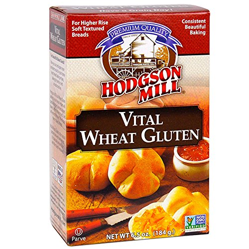 heat Gluten 6.5-Ounce Boxes (Pack of 8), For Higher Rise, Soft Textured Breads, with Vitamin C, Non-GMO, Kosher (Wheat Free Bread Crumbs)