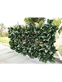 ejoy 24 piece artificial topiary hedge plant privacy fence screen greenery panels suitable for