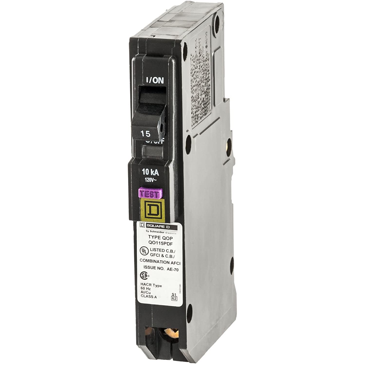 Ground Fault Circuit Interrupters Square D 50 Amp Gfci Breaker Wiring By Schneider Electric Qo Qo115pdf Plug In Mount 15 Single Pole