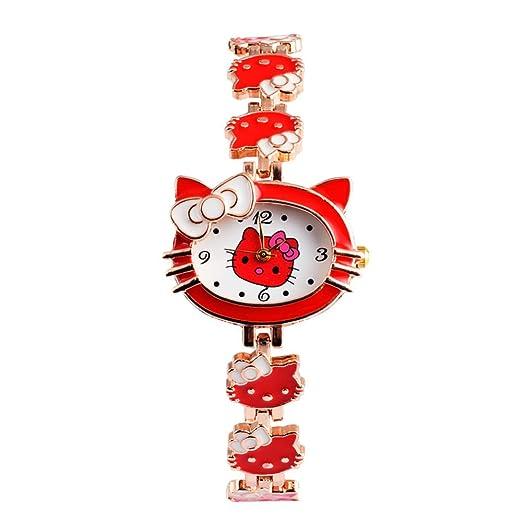 Reloj de pulsera para niñas, relojes para niños, bonitos relojes para niños, pulsera