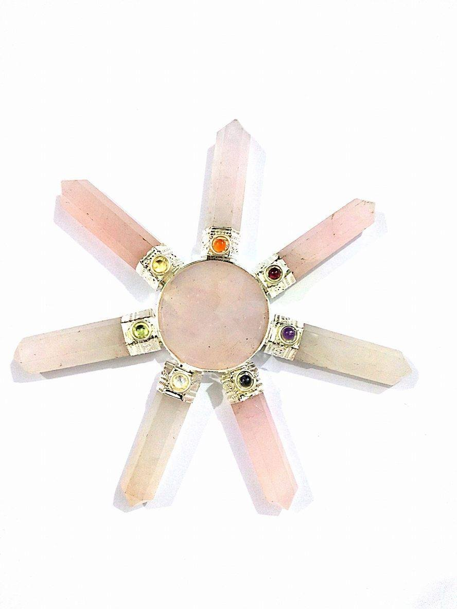 Healing Crystals India®Rose Quartz Generator