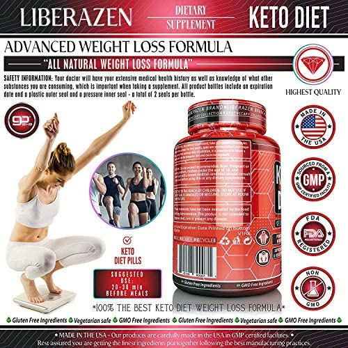 Keto Diet Pills - Instant Exogenous Ketones for Fuel and Natural Burn and Fat Loss Blast - Advanced Weight Loss Pure Keto Supplements for Fast Ketosis - 60 Capsules 7