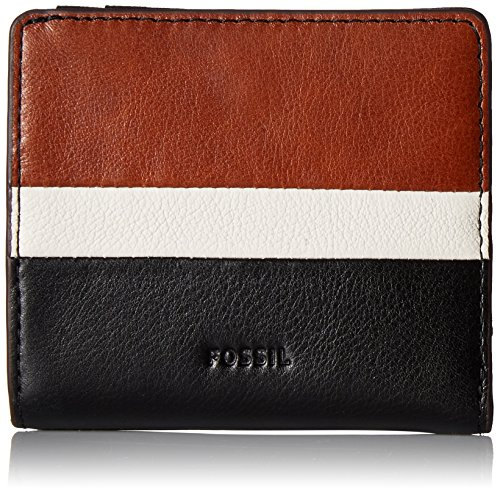 (Fossil EMMA RFID MINI WALLET Neutral Multi)