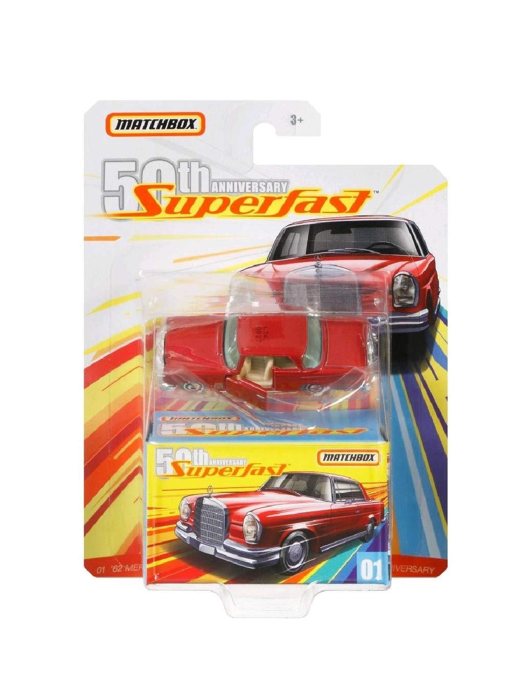 Matchbox 62 Mercedes Benz 50th Anniversary Superfast 01