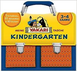Meine Yakari Tasche Kindergarten 3 4 Jahre Amazon De Autor