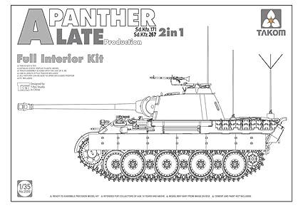 Amazon com: TAKom 1/35 World War II German Army in Tanks Sd