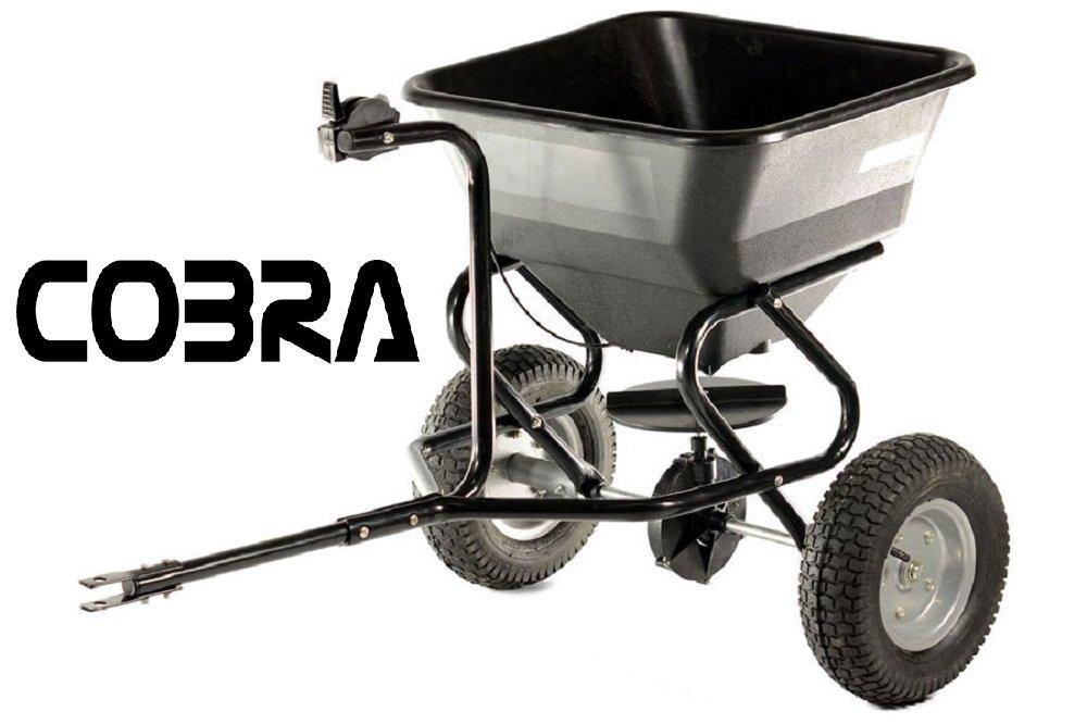 Cobra TS45 Tow Behind Fertiliser Seed Salt Spreader Poly Hopper Ride On Tractor