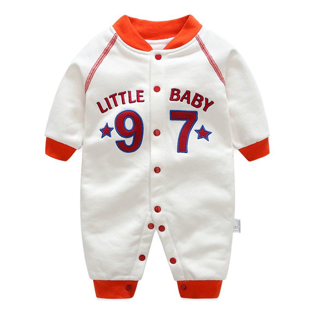 Unisex Baby Romper One-Piece Playsuits Warm Winter Coat Hooded Outfits Toddler Jumpsuit Snowsuit Infant Boys Girls Hoodies 0-12 Months Kootk Kootk Network technology Ltd