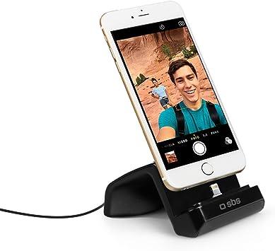 SBS TESUPPLIGHTNINGDOCK Smartphone Negro estación dock para móvil ...