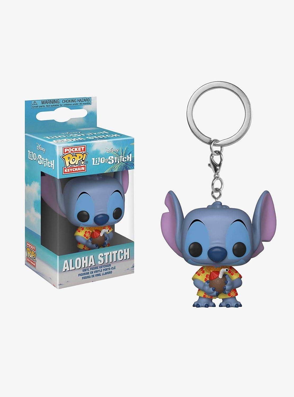 Funko - Disney Lilo & Stitch-Aloha Stitch 4 llaveros, multicolor, 128302: Amazon.es: Juguetes y juegos