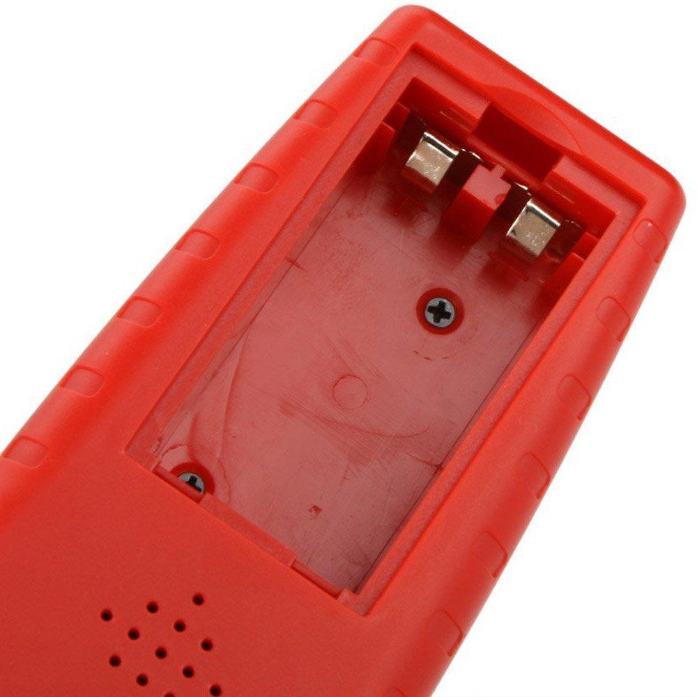 Telemetre ultrasonique portatif CP SODIAL R 3000 Odometre avec point de et LCD retroeclairage