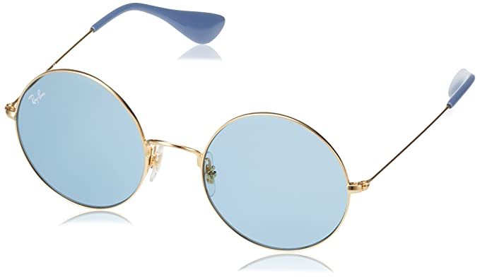 b0c12f8055c Image Unavailable. Image not available for. Color  Ray-Ban Women s Ja-jo  Round Sunglasses GOLD ...