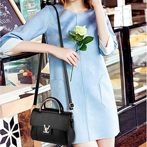 Fashion Hot Women Hobo Purse Bag Lady Shoulder Handbag Pink Pu Tote Leather Messenger ggwZdqrP