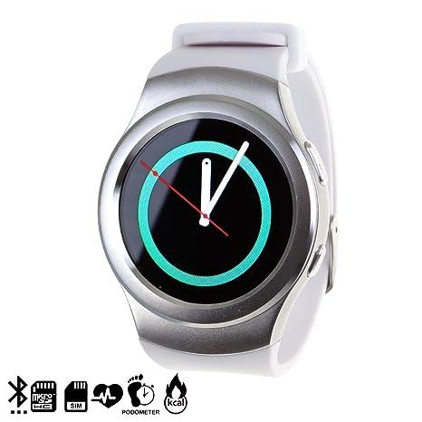 DAM DMR229 - Smartwatch G3 SIM Card, Color Plata: Amazon.es ...