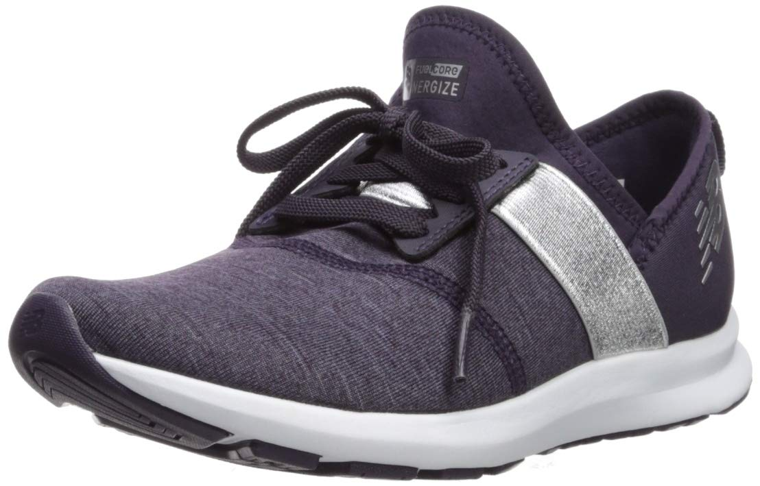 New Balance Women's Nergize V1 FuelCore Sneaker,ELDERBERRY,5 B US