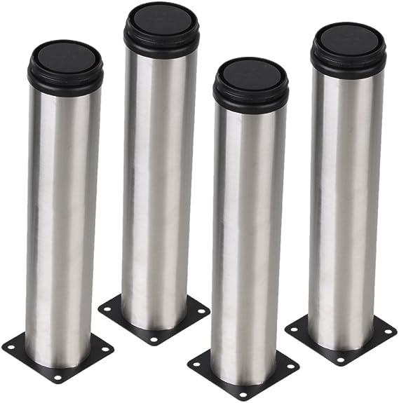 Plata 50 x 250 mm Gabinete patas de metal Ajustable mesa de cocina ...