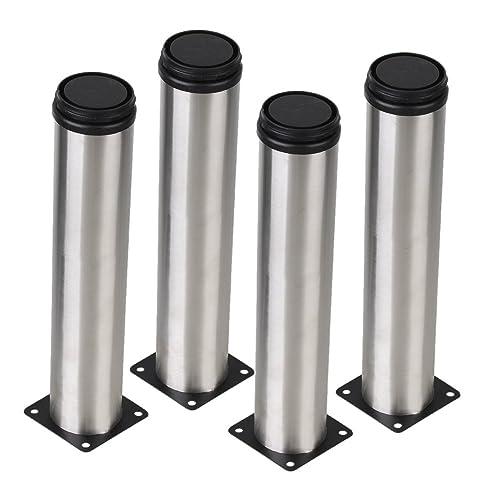 Adjustable Stainless Steel Kitchen Cabinet Legs: Metal Table Legs: Amazon.co.uk