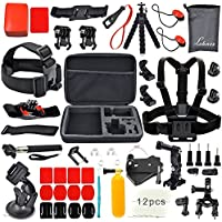 YFY 22-In-1 Basic Outdoor Sports Accessories Kit for GoPro Hero Cameras
