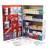 Rapid Care First Aid 80095 4 Shelf OSHA/ANSI First Aid Cabinet