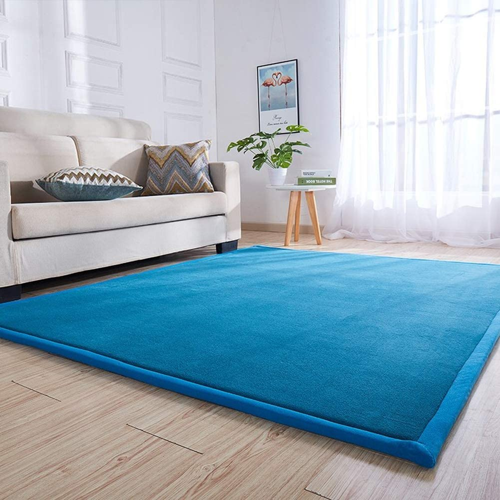Babys Bedroom Brilliant Size 75 by 110 Inch Living Room Non-Slip//Wear Resistant//Easy to Clean MAXYOYO Children Play Mat- Thick Soft Nursery Rug Protect Carpet Crawling Mat for Baby Toddler Play
