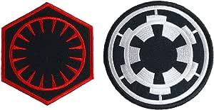Empire Red Rebel Aliance Starbird Star Wars Embriodered Iron on Sew On Patch #57