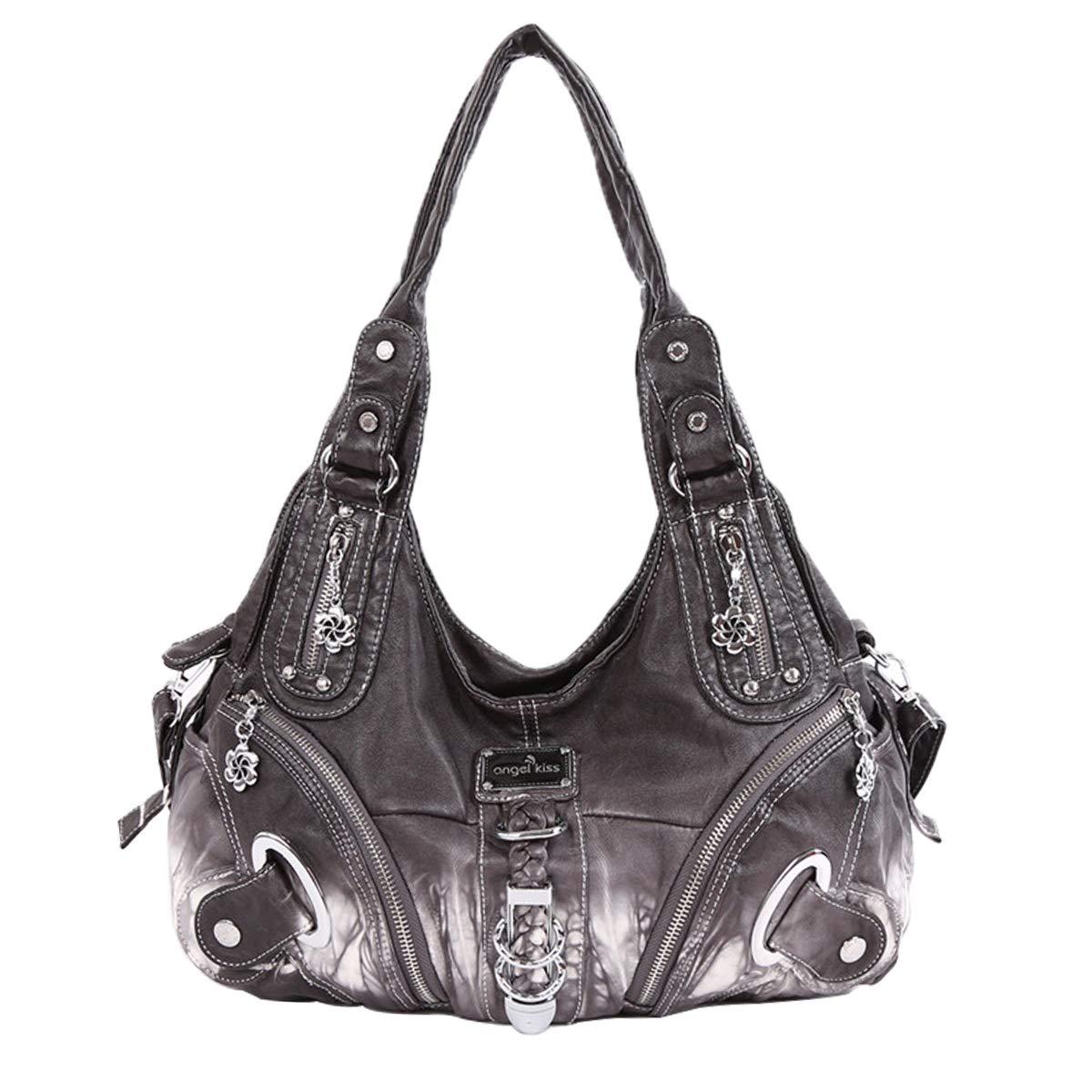 Ital Colore:Borgogna Borsa a tracolla in pelle Frans borsa tracolla donna borsa in pelle scamosciata T125