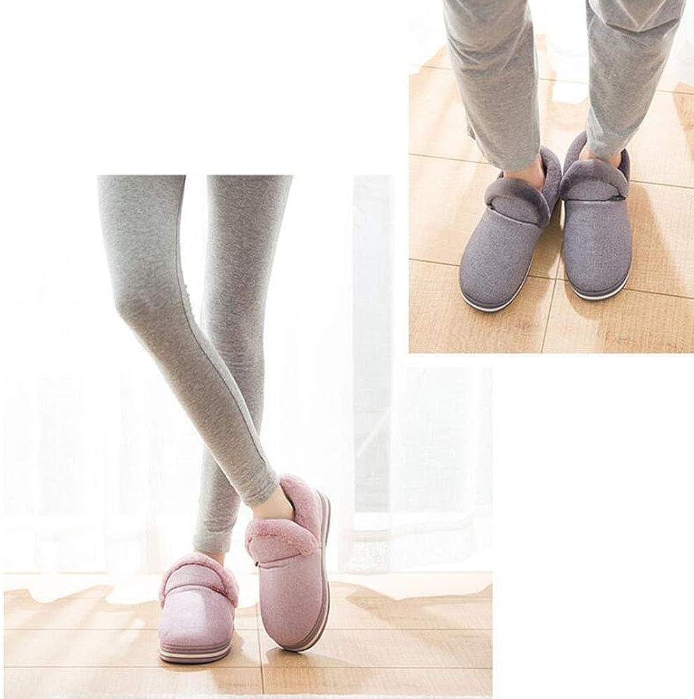 SUPERCB Womens Men Slipper Indoor Outdoor Soft Plush Fur Winter Shoes Short Boot