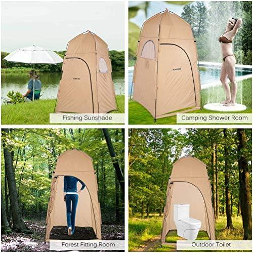Mobiele Kleedkamer Draagbare Buitendouche Tenten/Verwijderbare Toilettenten/Visserijen En Kampeertenten Waterdicht/Met Opbergzak,Blue