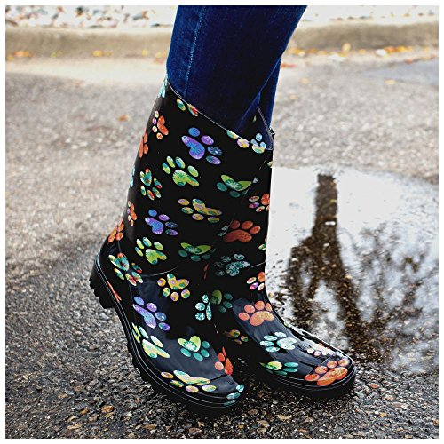 Rain Galore Boots amp; hearts Ultralite Paws xRfAWF